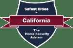 Safest Cities in California Badge - 151x100