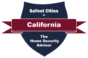 Safest Cities in California Badge