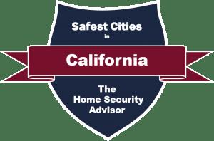 Safest Cities in California Badge