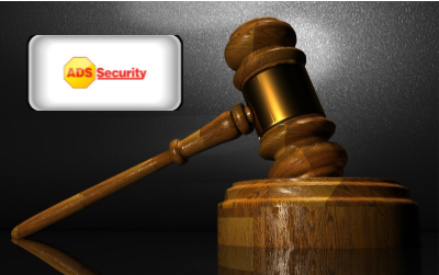 ADS Security Reviews - ADS Smart Security Logo with gavel