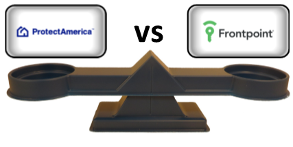 Frontpoint vs Protect America - Scale