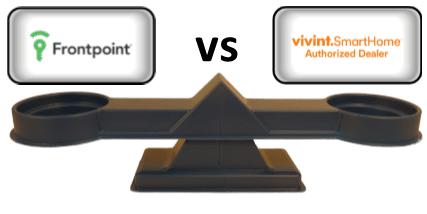 Frontpoint vs Vivint - Scale