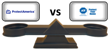 Protect America vs ADT - Scale