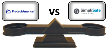 Protect America vs SimpliSafe - Scale