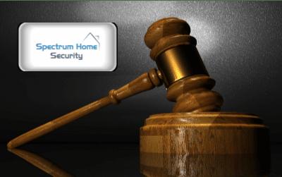 Spectrum Home Security gavel