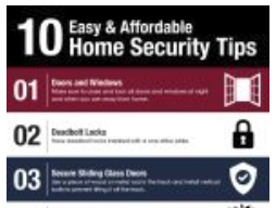 Top 10 Home Safet Tips