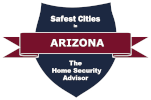 Safest Cities in Arizona Badge