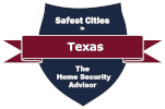 Safest Cities in Texas Badge