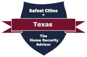 Safest Cities in Texas badge