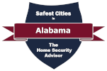 Safest Cities in Alabama Badge - 151