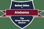 Safest Cities in Alabama Badge - 151