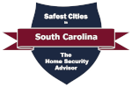 Safest Cities in South Carolina Badge