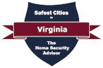 Safest Cities in Virginia badge