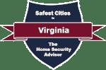 Safest Cities in Virginia badge