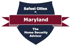Safest Cities in Maryland badge
