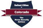 Safest Cities in Colorado Badge