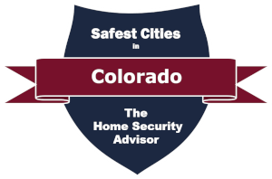 Safest Cities in Colorado.300 Badge