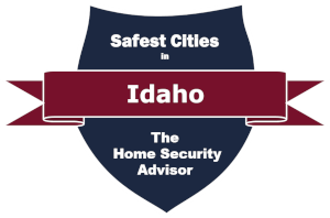 Safest Cities in Idaho Badge