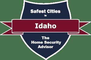 Safest Cities in Idaho Badge