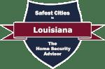 Safest Cities in Louisiana Badge