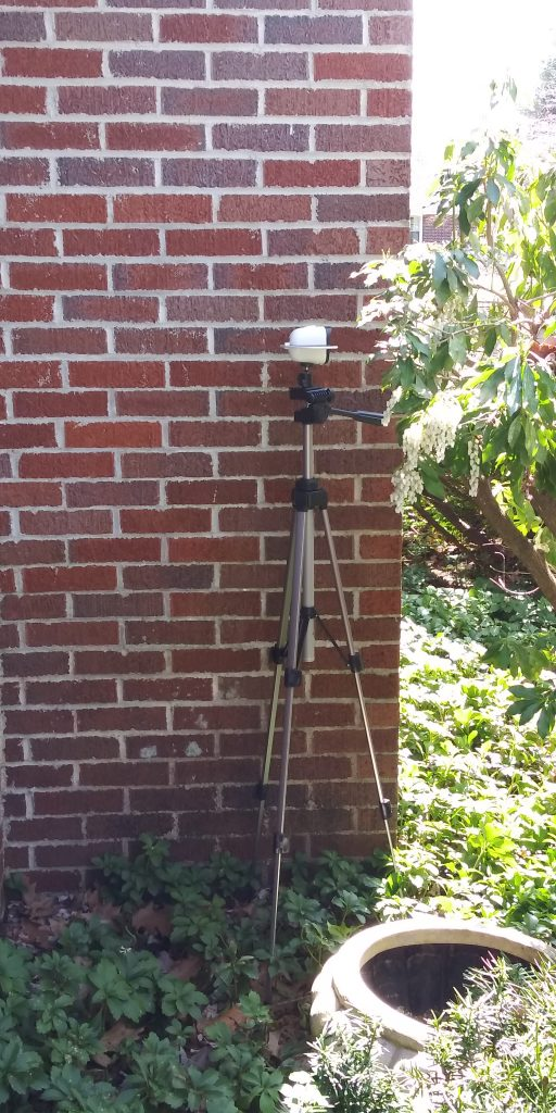 Solar Outdoor Camera- Tripod Mount