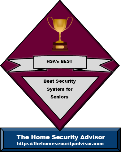 Best Security System for Seniors Badge