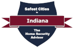 Safest Cities in Indiana Badge