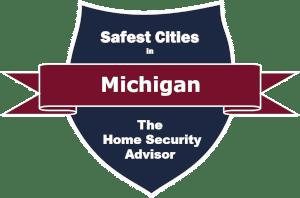 Safest Cities in Michigan Badge -300