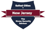 Safest Cities in New Jersey Badge
