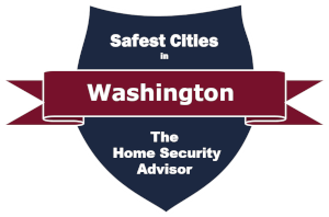 Safest Cities in Washington Badge