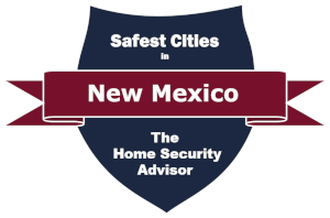 Safest Cities in New Mexico Badge