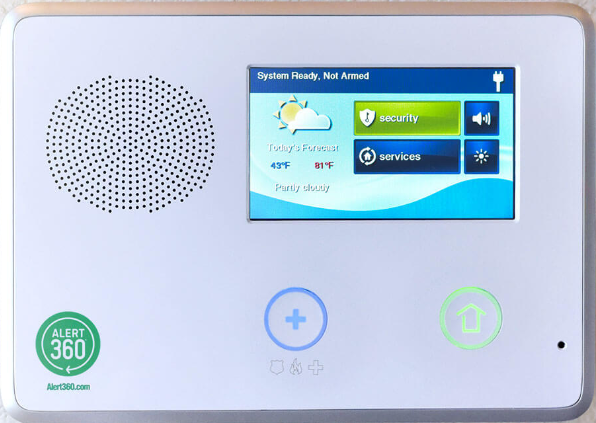 central Security Group Reviews - Alert 360 Conrol Panel -2Gig