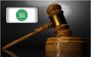 Alert 360 and Central Security Group Reviews - pic of gavel