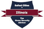 Safest Cities in Illinois Badge