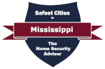 Safest Cities in Mississippi Badge