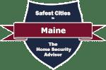 Safest Cities in Maine Badge
