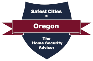 Safest Cities in Oregon Badge