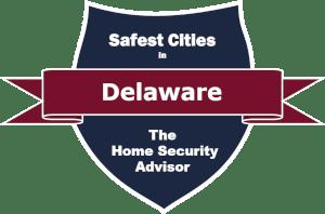 Safest Cities in Delaware Badge