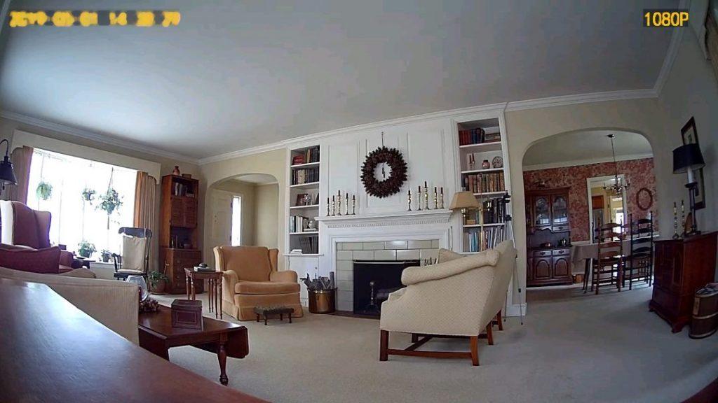 Solar Camera Indoor Daylight Pic