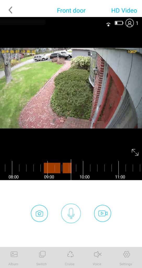 Soliom Solar Camera App Screen Capture