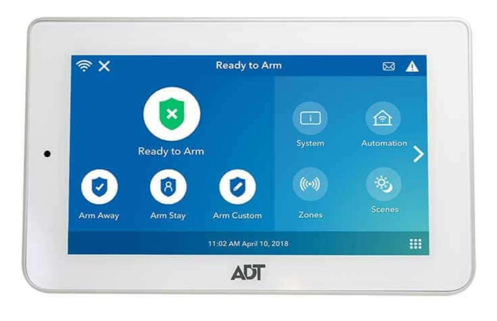 ADT Reviews - ADT Alarm Panel Image
