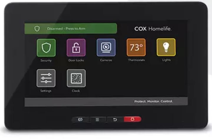 Cox Homelife Control Panel