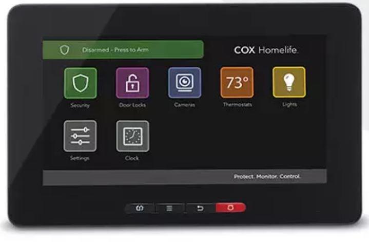 Cox Homelife Control Panel