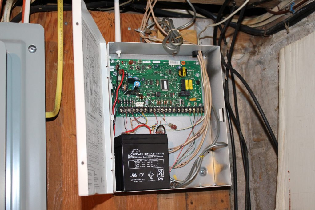 Outdated Home Security Panel